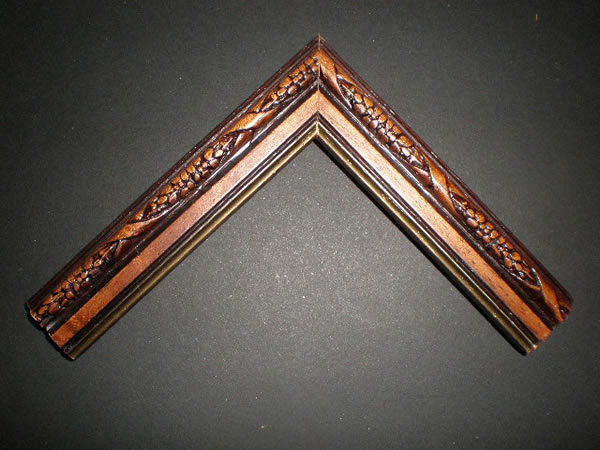 Carved With Gold Trim